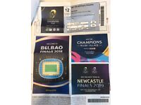 European Rugby Champions cup final 2018 Bilbao : Leinster V Racing 92