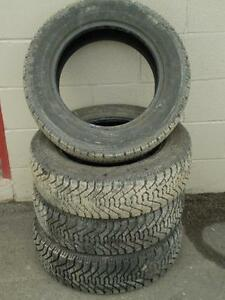 195/65R15 set of 4 Goodyear Winter Used (inst. bal.incl) 85% tread left
