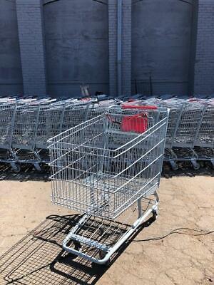 Shopping Carts Deep Metal Basket Lot 16 Large Grocery Liquor Store Supermarket