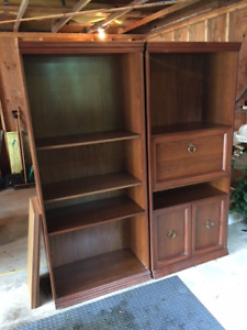 Book cases/ stereo