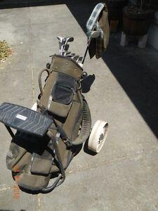 Golf bugy with clubs Oakleigh Monash Area Preview
