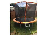 10ft sports power trampoline with accessory kit