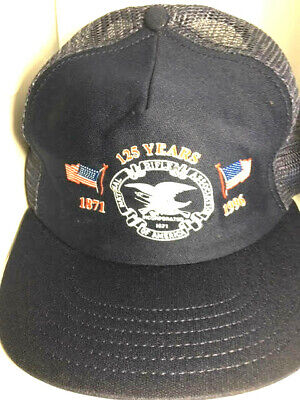 low priced 9b84c 5fe97 Men s National Rifle Association Hunting NRA 125 Years 1996 Baseball Hat Cap