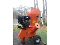 GARDEN SHREDDER WOOD CHIPPER MULCHER - 15Hp RECOIL START PETROL