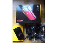 KODAK Zi8 POCKET CAMCORDER BOXED HD 1080P HIGH DEFINITION DIGITAL VIDEO