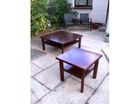 REDUCED ! Designer SKOVBY Coffee & Lamp/ Side Tables !