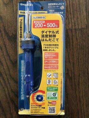 Hakko Dial Type Temperature Limiting Soldering Iron Fx600