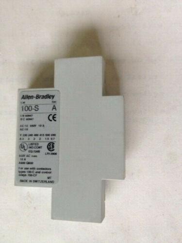 A B  Mechanical Interlock, Cat No. 100-S, B01, Ser  A
