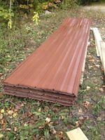 Used roofing steel