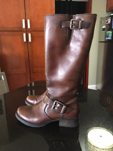 Reiker Brown Boots - Size 39 (7.5) - Worn Once!