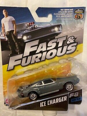 Hot Wheels Ice Charger Grey Fast and Furious 1/55