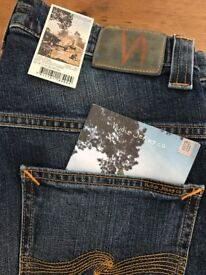 "Brand New Nudie Jeans , size 34"" waist and 34"" leg"