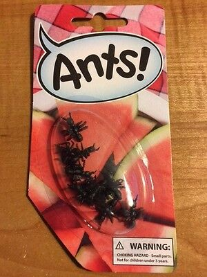 Ants! - Jokes, Gags and Pranks - Reusable! - Scare Your Friends - Fake Ants! - Scare Your Friends Prank