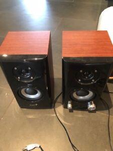 Genius Hi-Fi Wood Speaker for Computers (SP-HF500A)