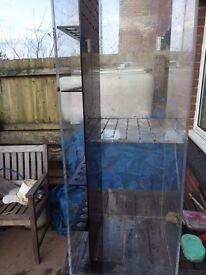 4ft split seregation acrylic fish tank