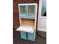 Vintage 50s/60s Kitchen Larder Cabinet Cupboard Unit