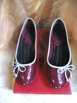Super chaussure ballerine vintage kenzo tres bon etat t.38