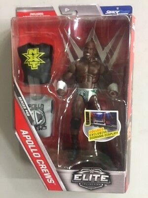 Apollo Crews Elite Series 49  WWE Mattel Brand New Action Figure Mint Packaging