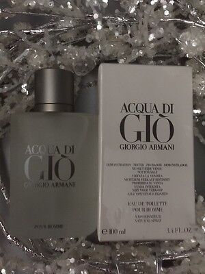 Acqua Di Gio  3.4 Oz. Men SPRAY EDT COLOGNE **NEW IN BOX** GIORGIO ARMANI 3