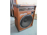 Carlsbro Sherwood Guitar Amplifier (25w + one 15 inch Speaker + Tweeter)