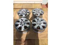 "Genuine 16"" Volkswagen Transporter T5 T6 Load Rated Alloy Wheels"