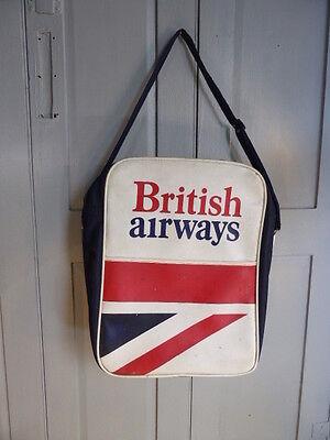 Vintage BA British Airways travel bag