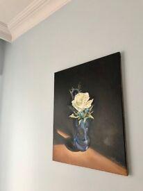 Blue Vase 50cmx60cm