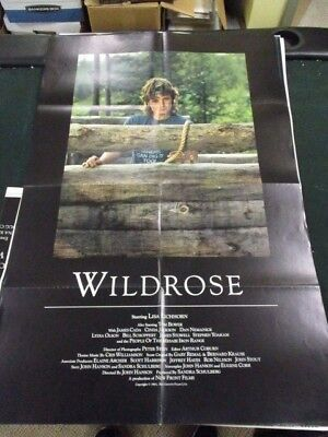 1 Folio Movie Poster Wild Rose 1983 Lisa Eichhorn Tom Bower James Cada Drama