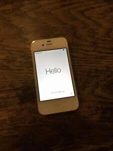 iPhone 4- 16GB- ROGERS- White- Mint condition