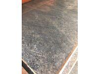 Cheap Blue kitchen worktop - brand new 10 foot long