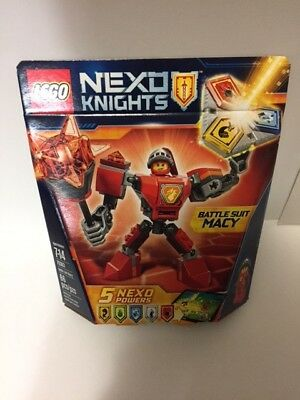 LEGO 70363 Nexo Knights Battle Suit Macy Sealed Retired FREE SHIPPING