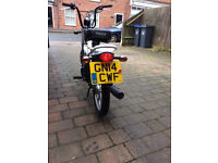 tomos bike 2014 only 98 miles from new, jokeing aside its new