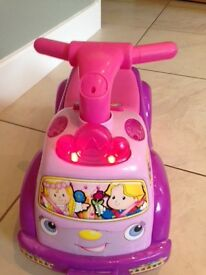 Fisher Price Princess Ride On with Lights & Sounds