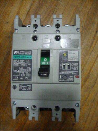 Fuji Electric EW250JAGU-3P175 Earth Leakage Circuit Breaker