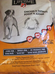 LIFETIME CHICKEN & OATMEAL 13KG SALE