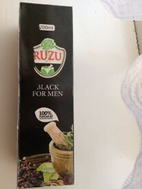 ruzu black for men - herbal bitters