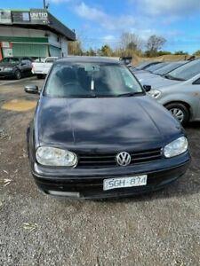 2003 Volkswagen Golf 1.6 Generation Black 4 Speed Automatic Hatchback Werribee Wyndham Area Preview