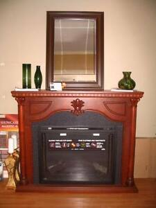 Electric Fireplace & Mantel Price Reduced Further