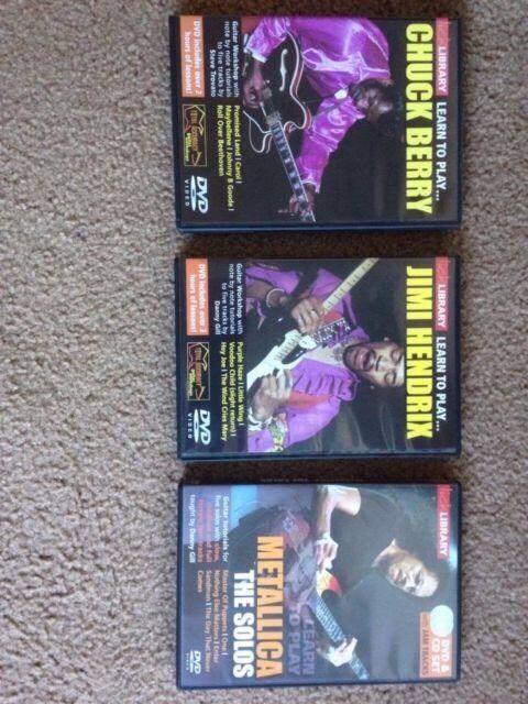 Lick library guitar tab dvd's