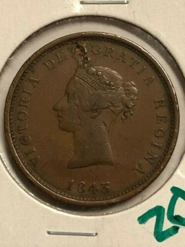 1843 - New Brunswick - 1 Penny Token