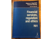 CII R01 Financial Services, Regulation and Ethics - 2015/2016 Study text
