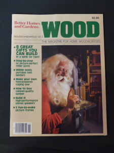 WOOD & CANADIAN HOME WORKSHOP MAGAZINES