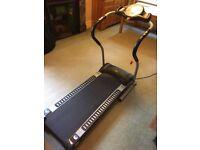 Pro Fitness Motorised Folding Treadmill