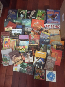 45+ asst Kids Books & CD-Roms (used, great/excellent condition)