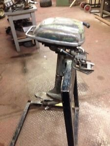 Various vintage outboards for sale
