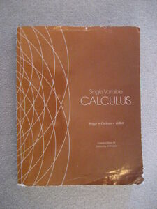 Single Variable Calculus - Briggs Windsor Region Ontario image 1