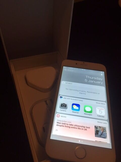 apple iphone 6 and apple watch 42mm sport (1in Inverurie, AberdeenshireGumtree - Iphone 6 unlocked apple watch Sport 42mm Warranty til Apr 17 Both boxed with chargers Both Excellent condition Both perfect working order with no issues at all £350.00