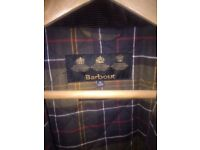 Boys Barbour Corbridge Wax Padded Jacket : Size XL (12-13Y). Inc Original Tags - Cost £165