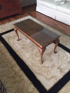 Queen Anne style vintage coffee table Beaumaris Bayside Area Preview