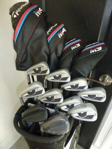 Ensemble golf Ping G400/Taylormade M3/M4 NEUF valeur 3600$!